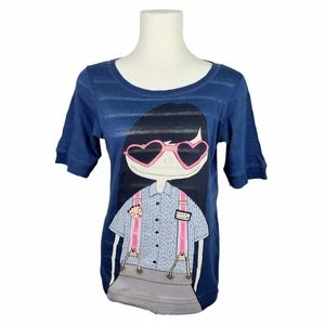 Marc Jacobs Miss Marc Graphic Printed T-Shirt